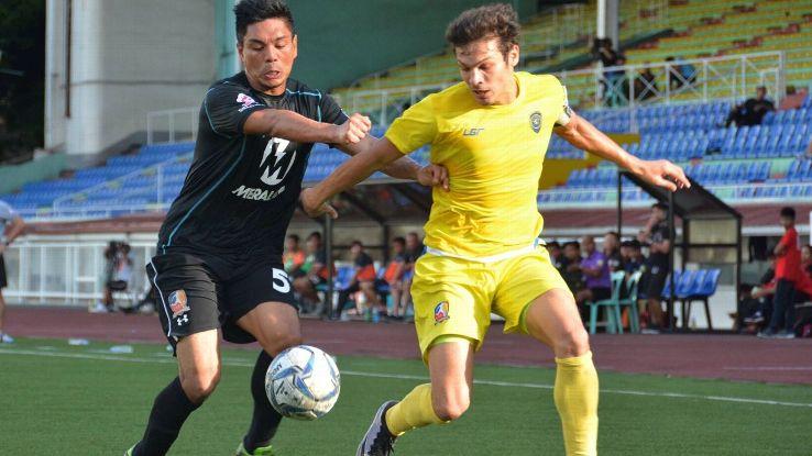 Philippines striker Misagh Bahadoran