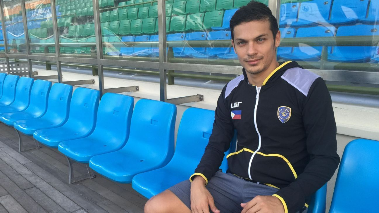Global forward Misagh Bahadoran