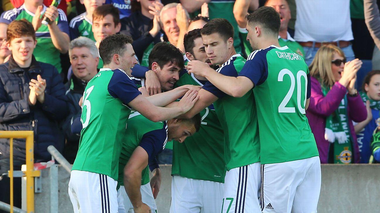 N Ireland celeb vs Belarus 160527