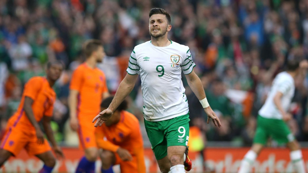 Shane Long celeb vs Netherlands 160527
