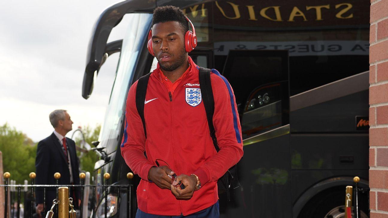 Daniel Sturridge off the England bus
