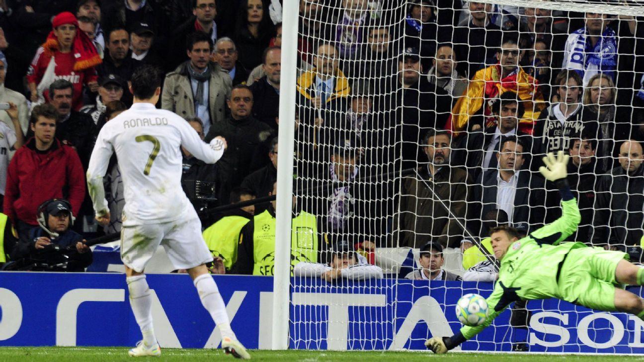 Ronaldo misses PK v Bayern