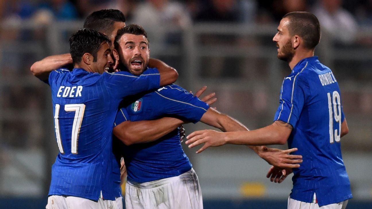 Italy celeb vs. Scotland