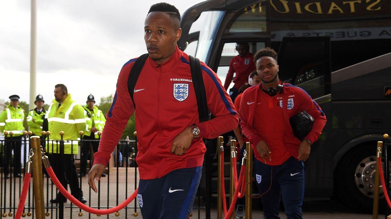 England defender Nathaniel Clyne
