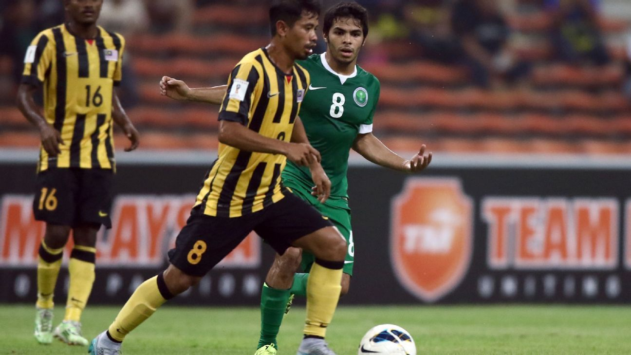 Malaysia midfielder Safiq Rahim