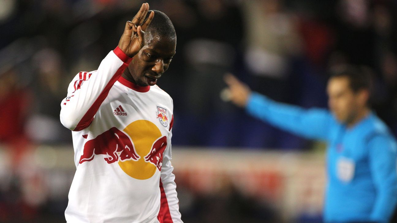 New York Red Bulls striker Bradley Wright-Phillips