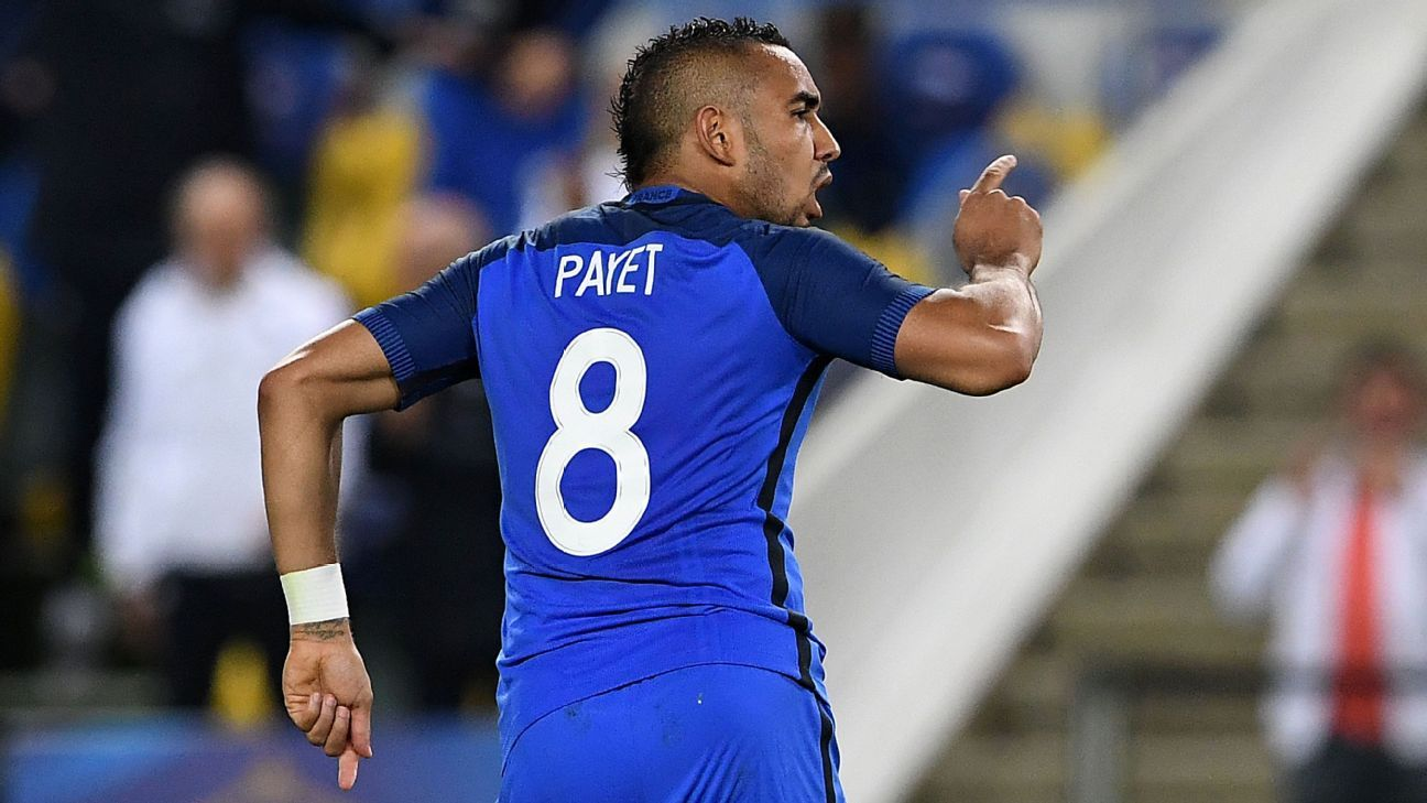 Dimitri Payet scored the winner in the 90th minute.