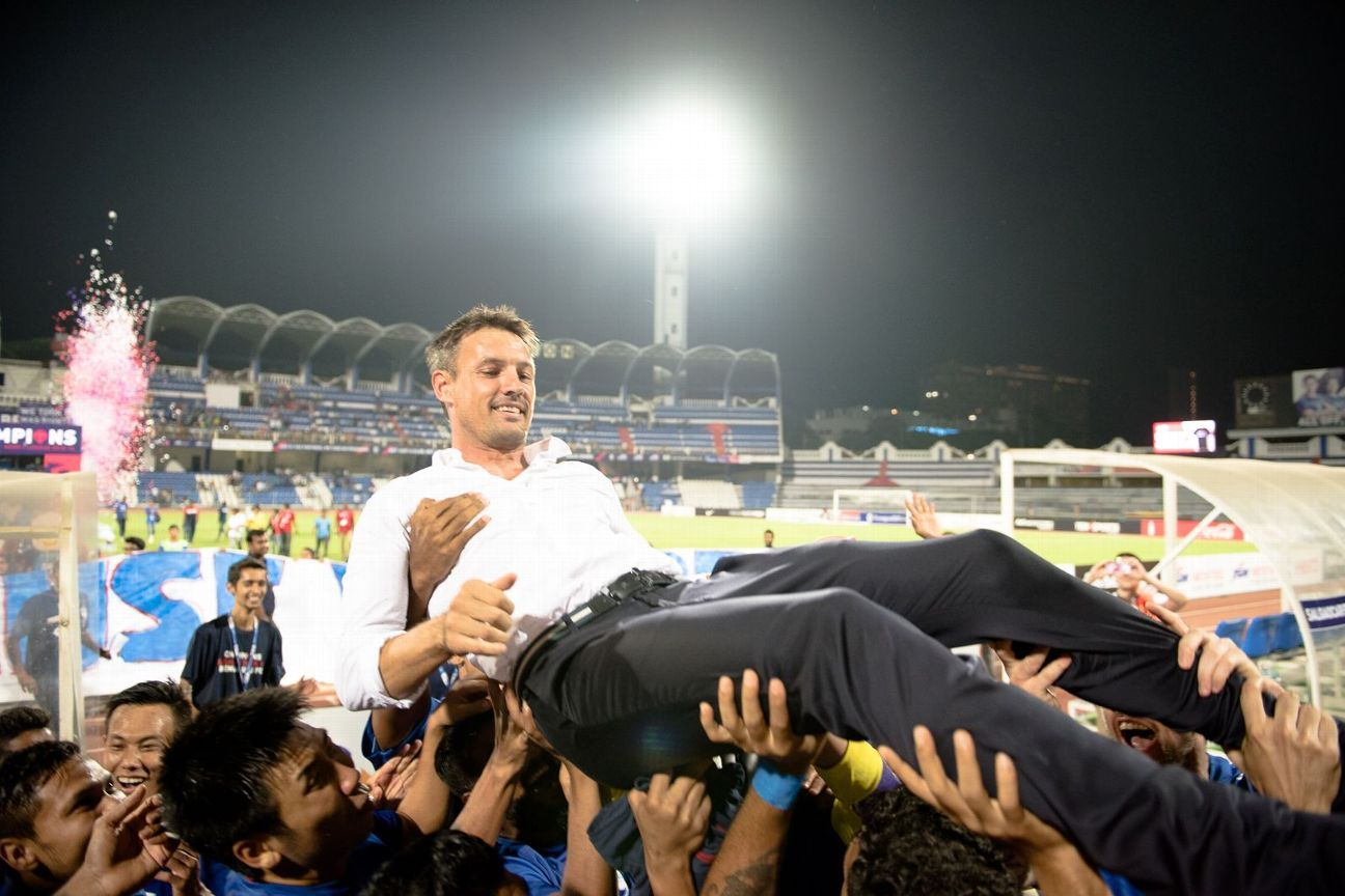 Ashley Westwood guided Bengaluru FC to two I-League titles