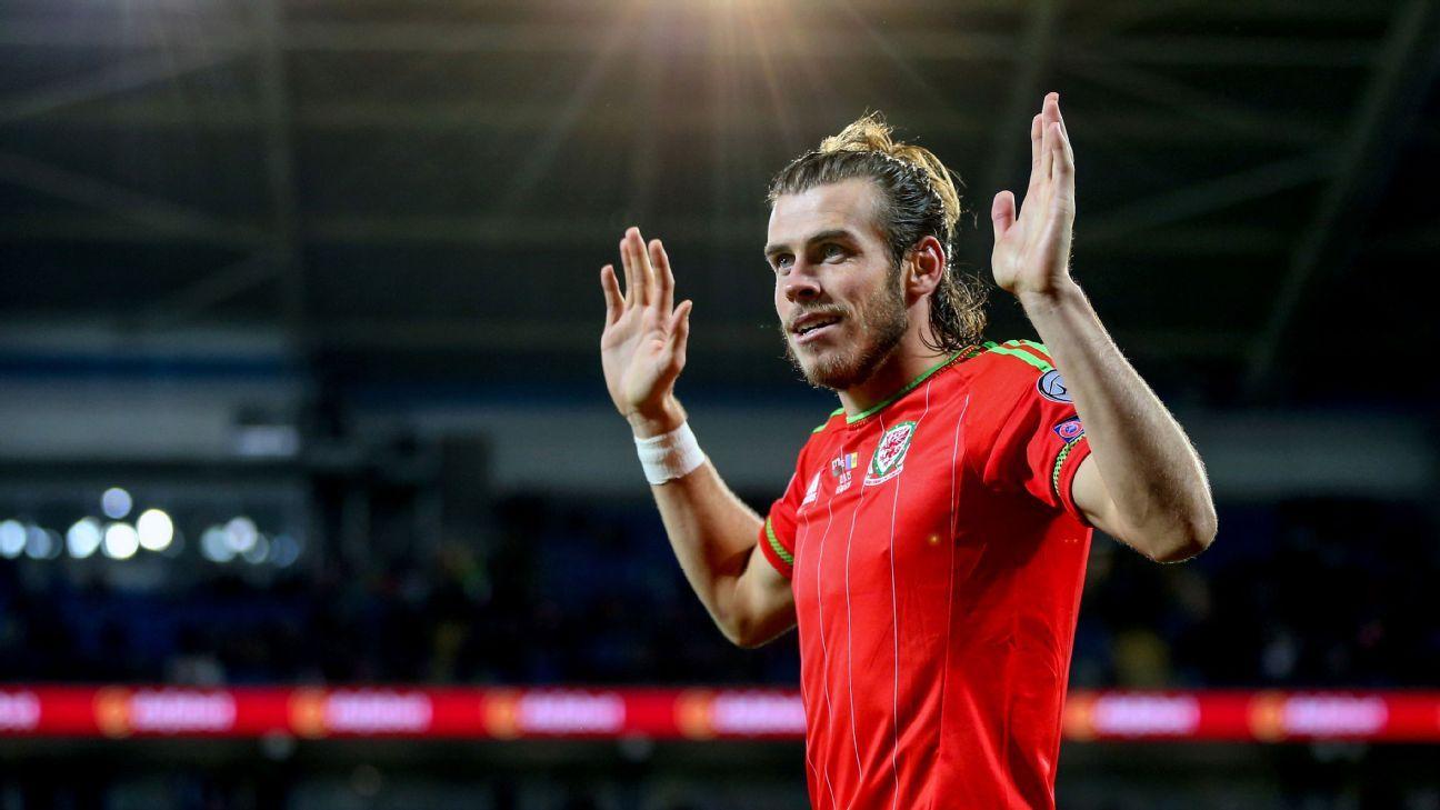 Wales midfielder Gareth Bale