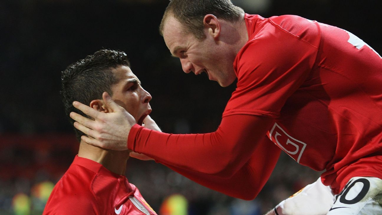Might Cristiano Ronaldo and Wayne Rooney reunite in Miami when David Beckham's new MLS team starts up?