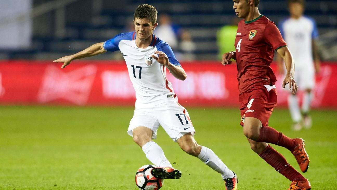 Christian Pulisic v Bolivia