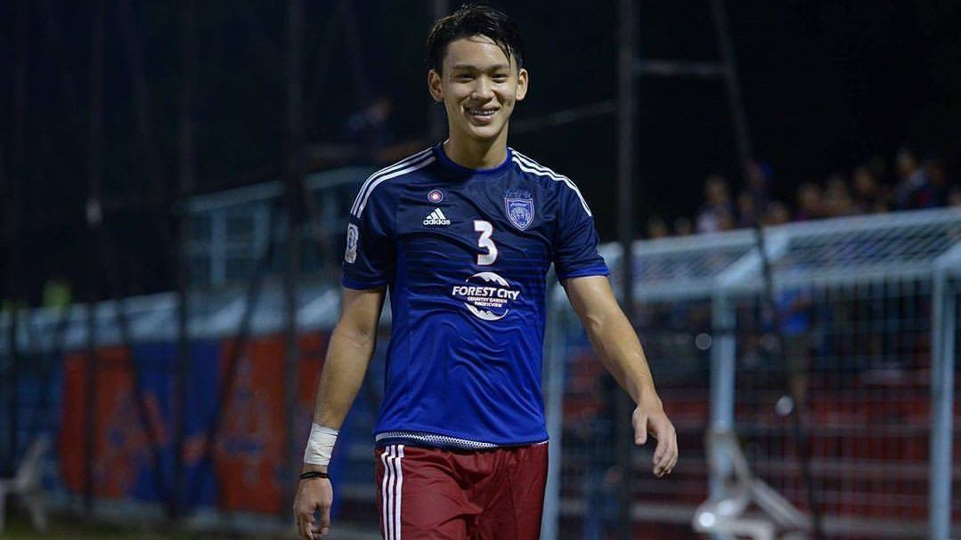 JDT II defender Dominic Tan