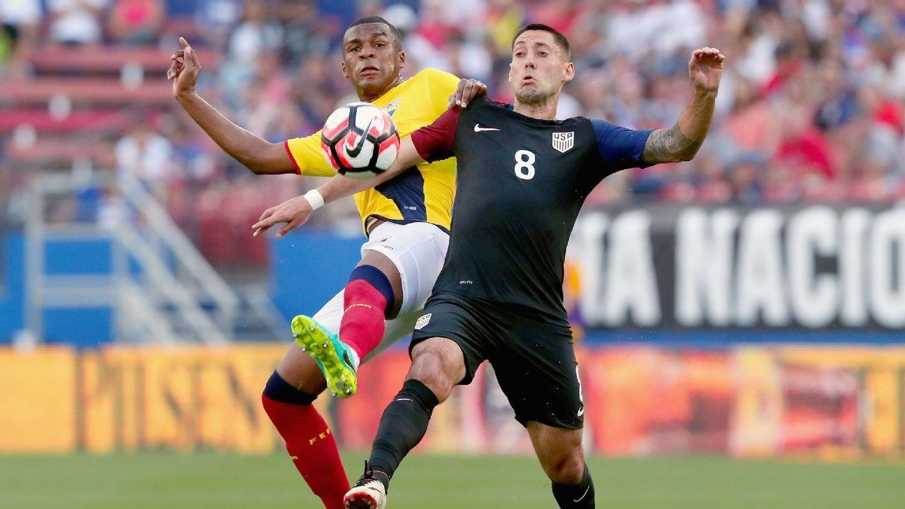 Dempsey vs Ecuador 160602