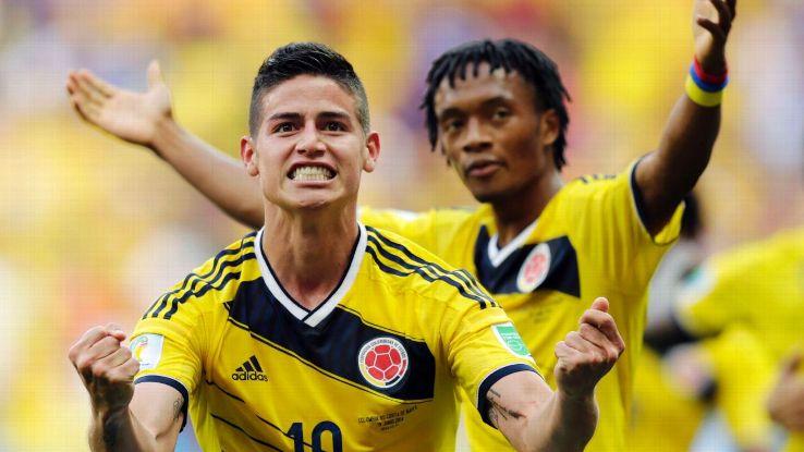 Colombia James Rodriguez Cuadrado