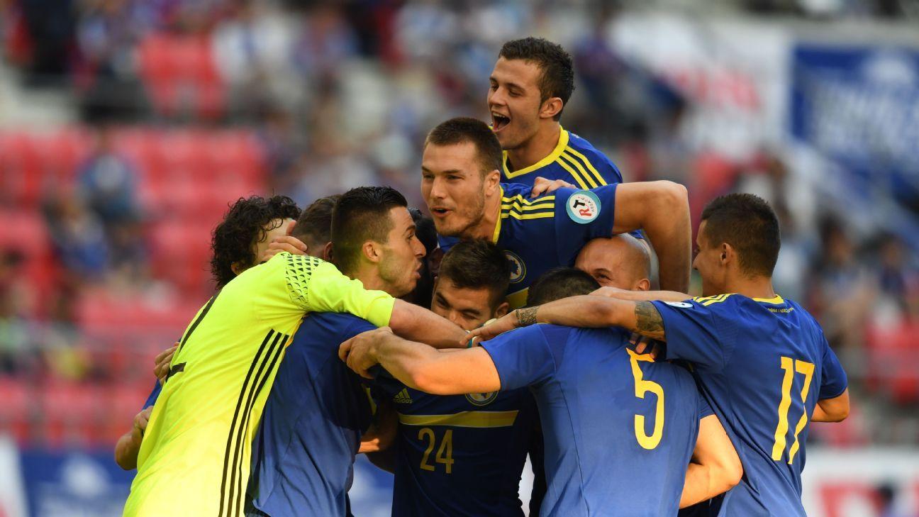 Bosnia and Herzegovina celeb v Denmark 20160603