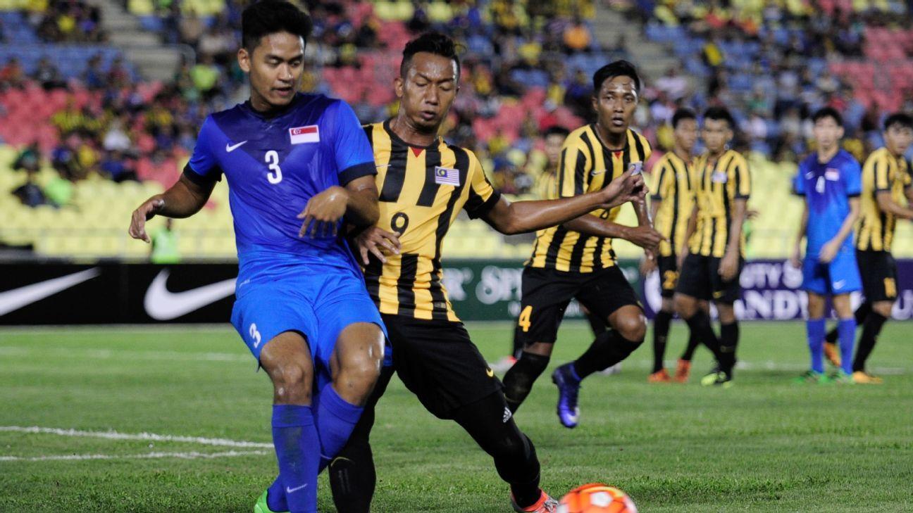 Malaysia U21 vs. Singapore U21, Adam Nor Azlin