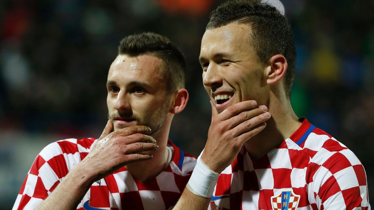 Marcelo Brozovic and Ivan Perisic