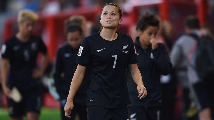 New Zealand defender Ali Riley