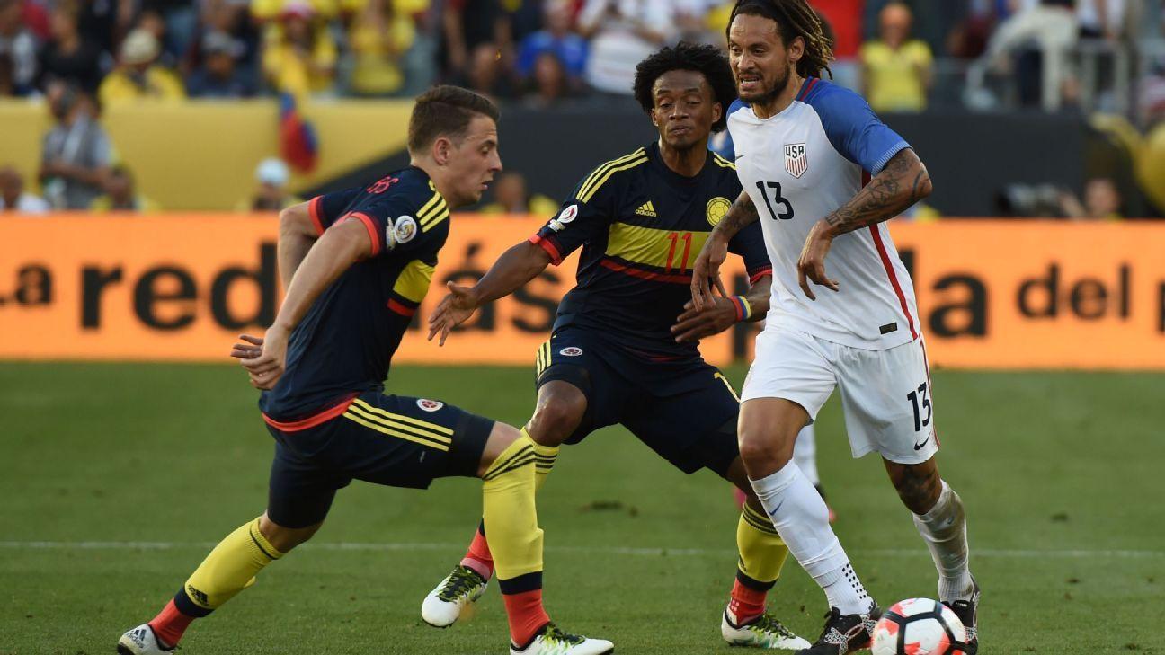Jermaine Jones vs Colombia 160603