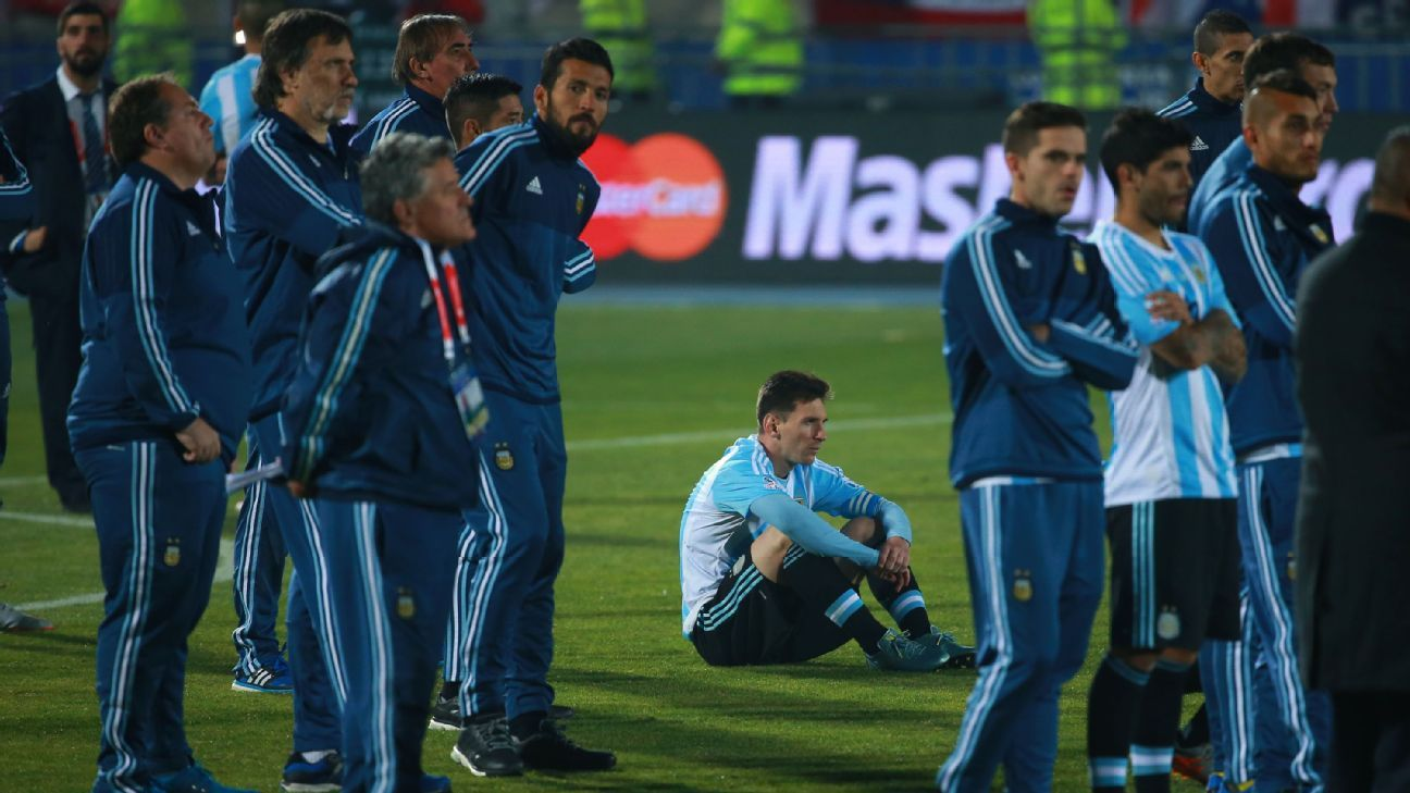 Messi and Argentina motivated by revenge against Chile in Copa America