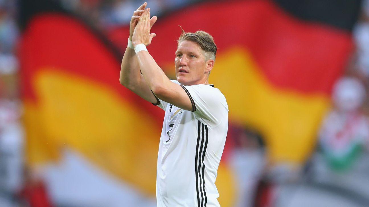 Germany midfielder Bastian Schweinsteiger