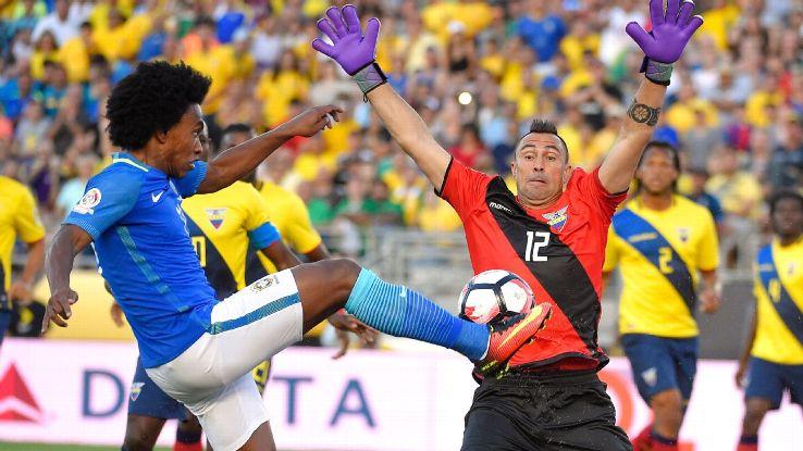 Willian vs Ecuador 160604
