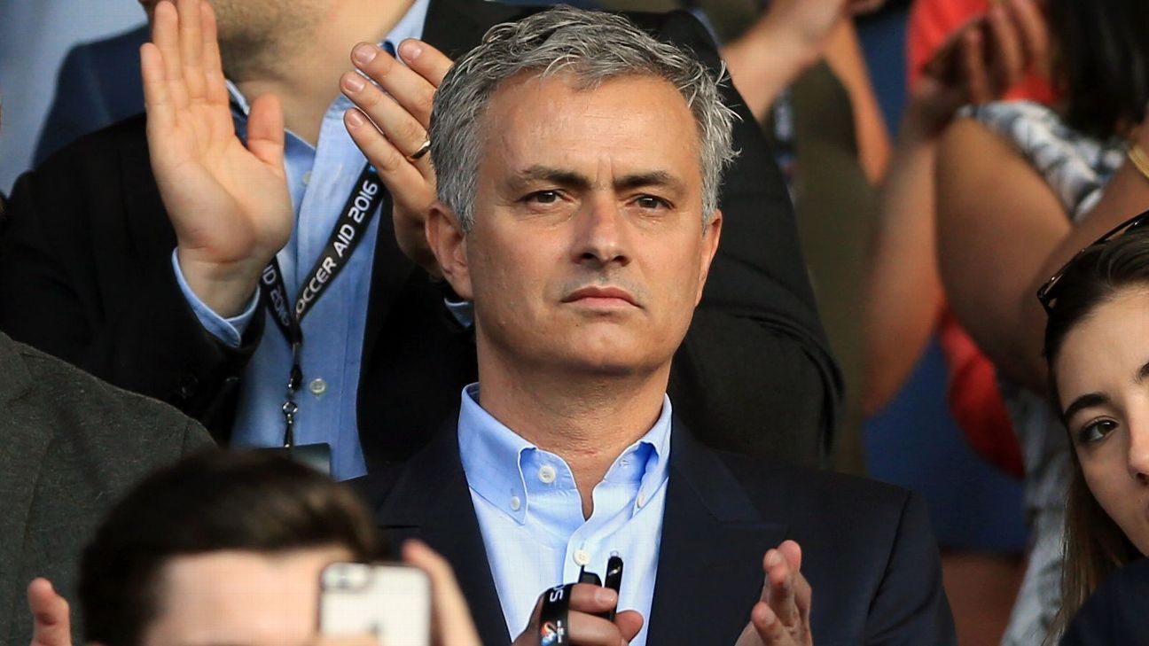 Mourinho at Old Trafford