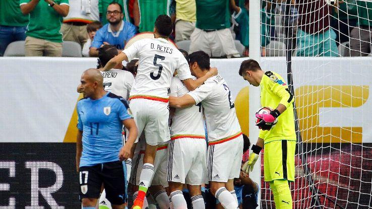 Mex celeb vs Uruguay 160605