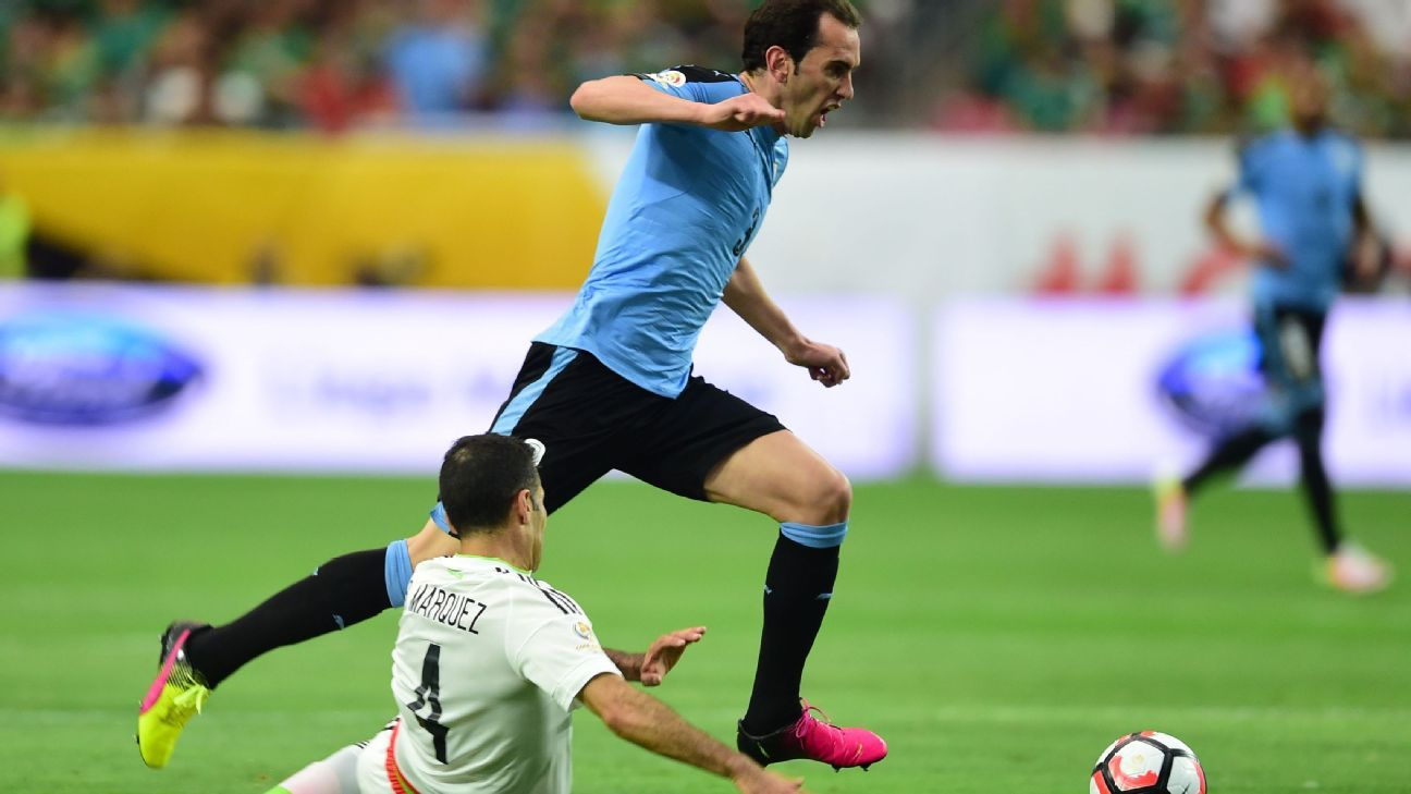 Uruguay s Diego Godin honoured with award by national parliament
