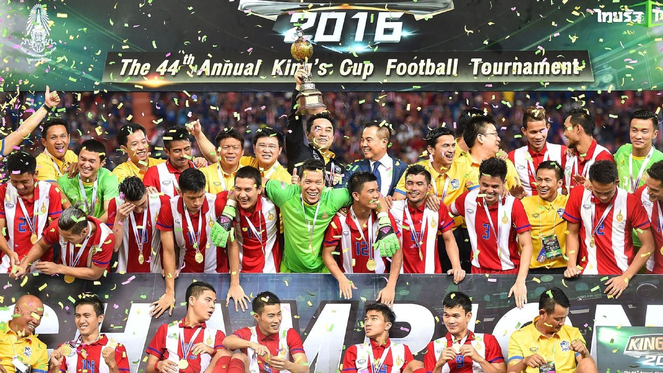 King's Cup champions Thailand