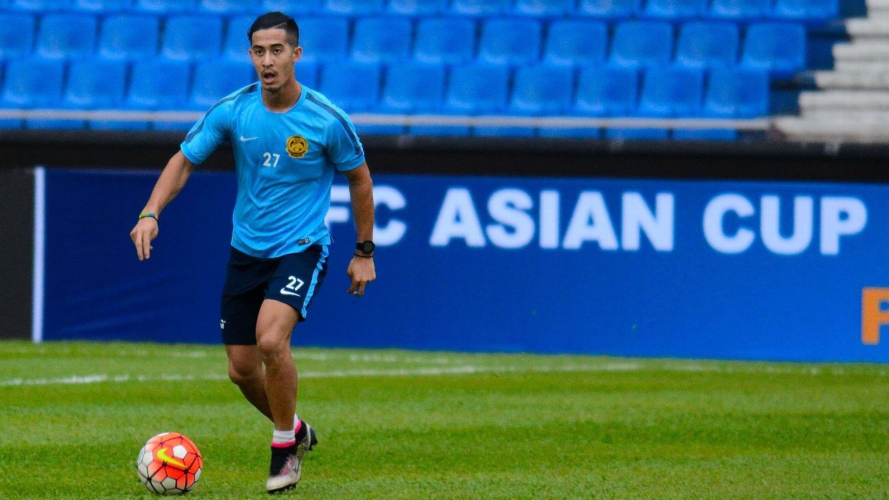 Malaysia midfielder Brendan Gan
