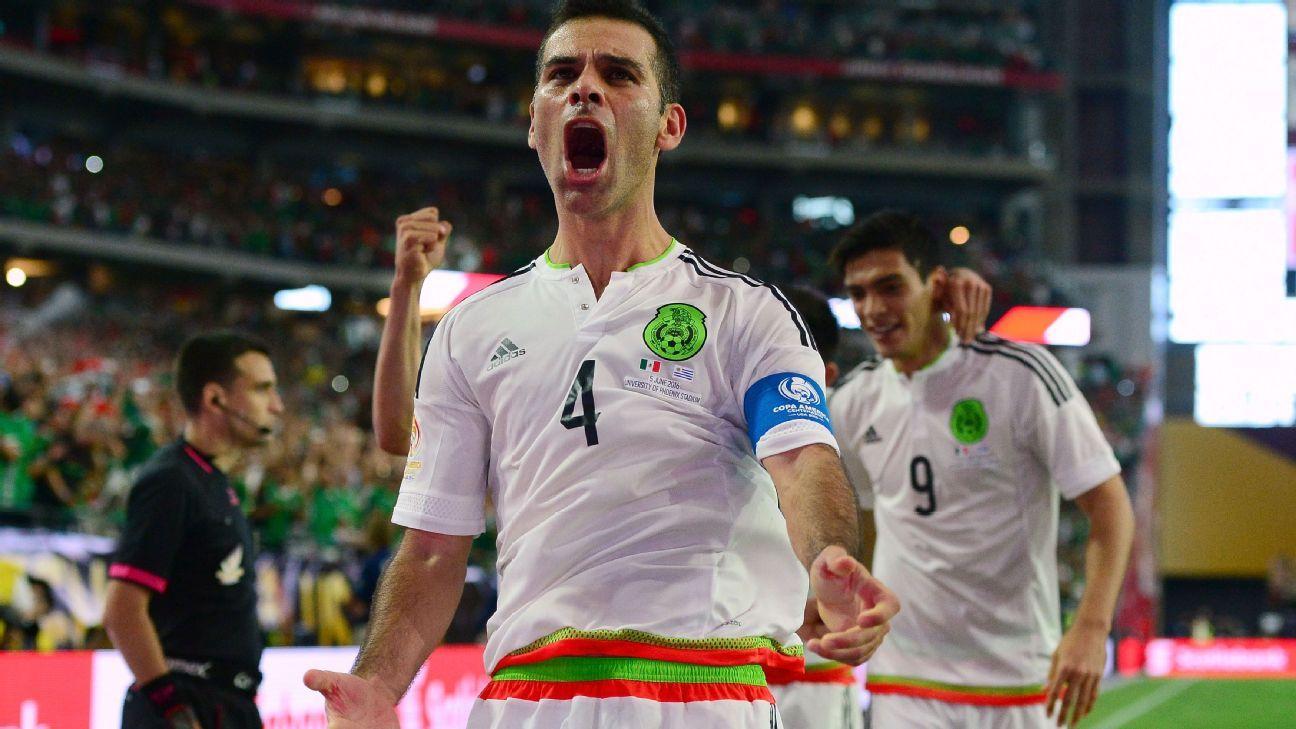 Mexico defender Rafa Marquez