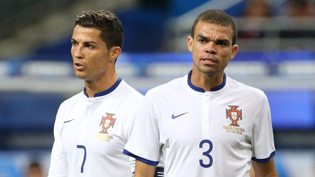 Pepe wants Real Madrid's Cristiano Ronaldo to join him at Besiktas