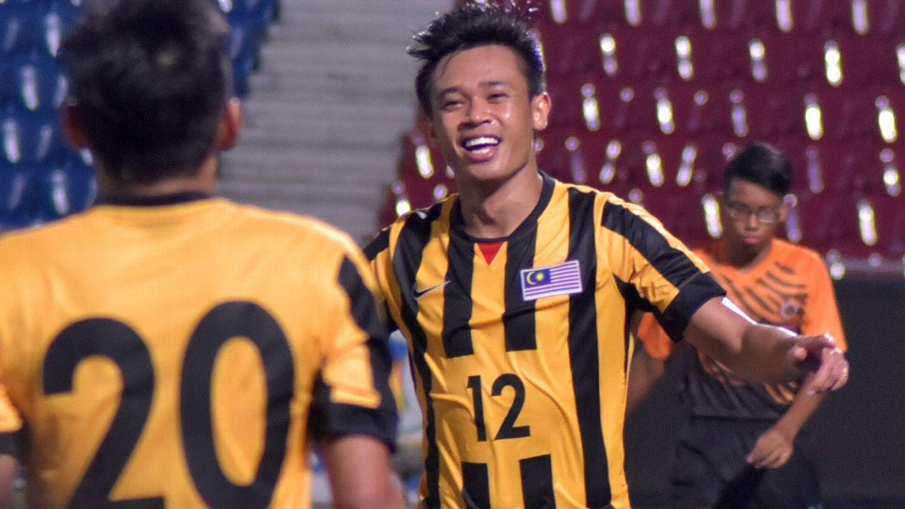 Hazwan Bakri, Malaysia striker