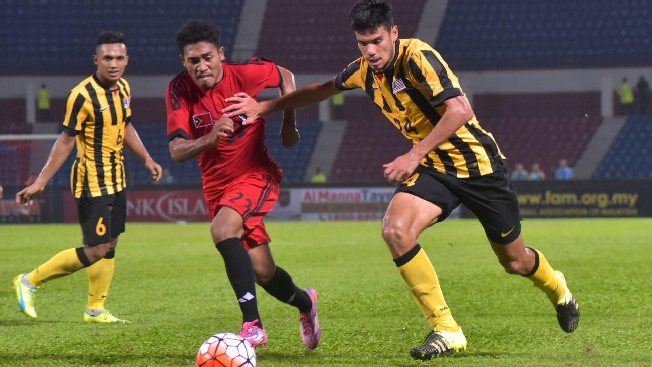 Khair Jones, Malaysia DF vs. Timor Leste 2016