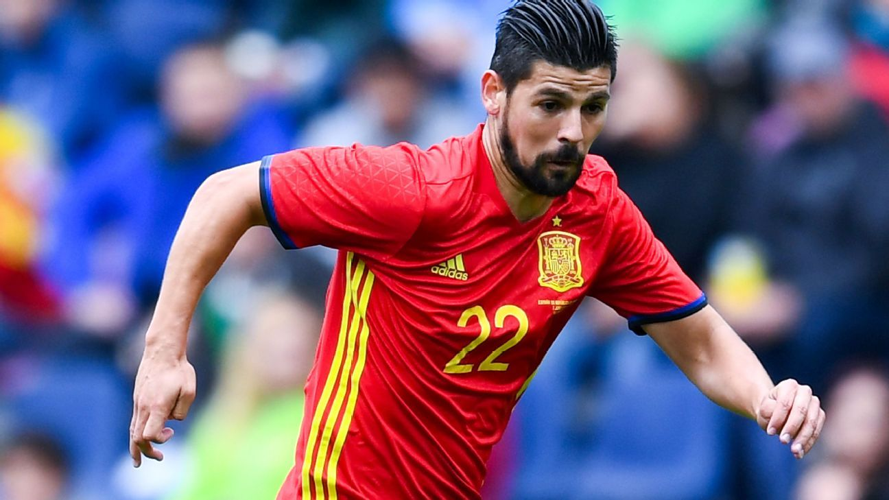 Nolito with Spain