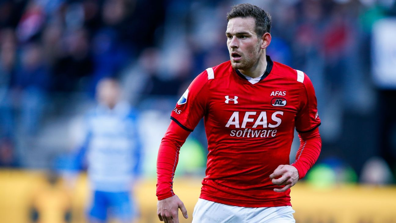 Vincent Janssen with AZ