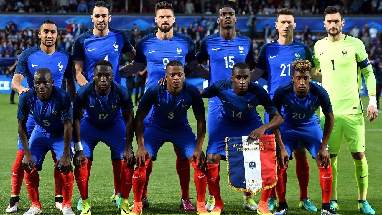 France squad
