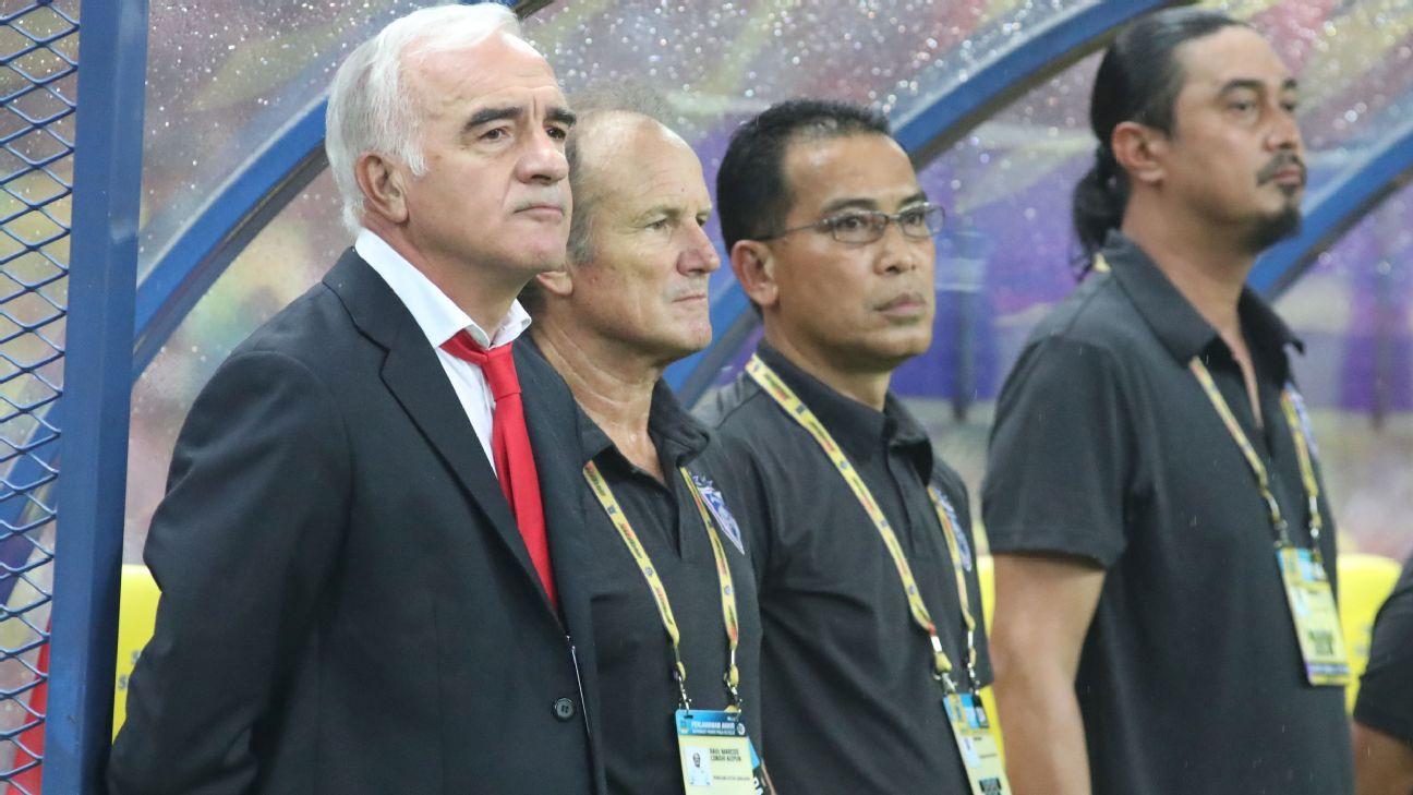 JDT coach Mario Gomez