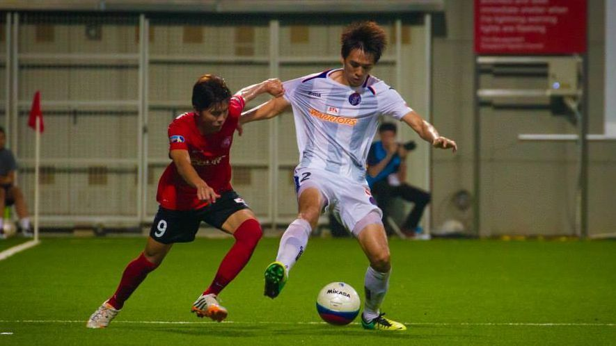 Warriors defender Jeremy Chiang