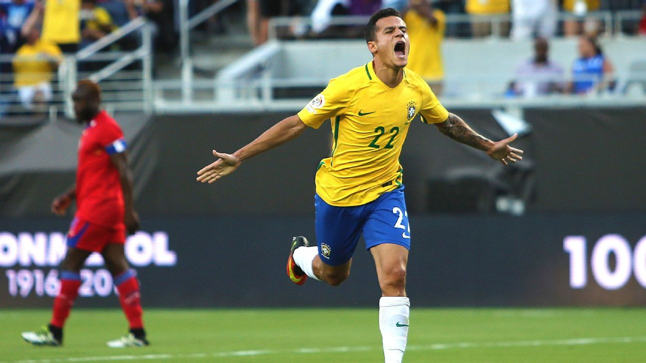 Philippe Coutinho's fame derives entirely from how he plays football.