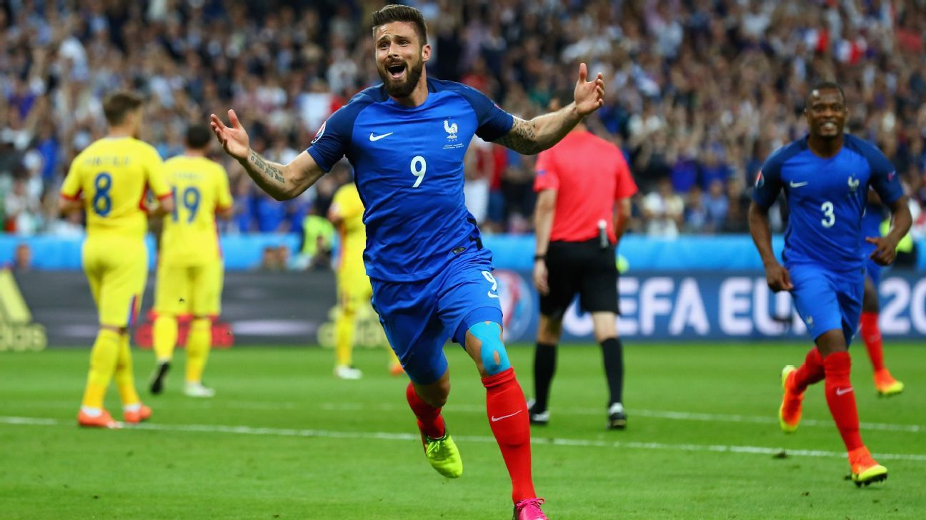 Much-maligned Giroud proving value for France, will be key vs Iceland