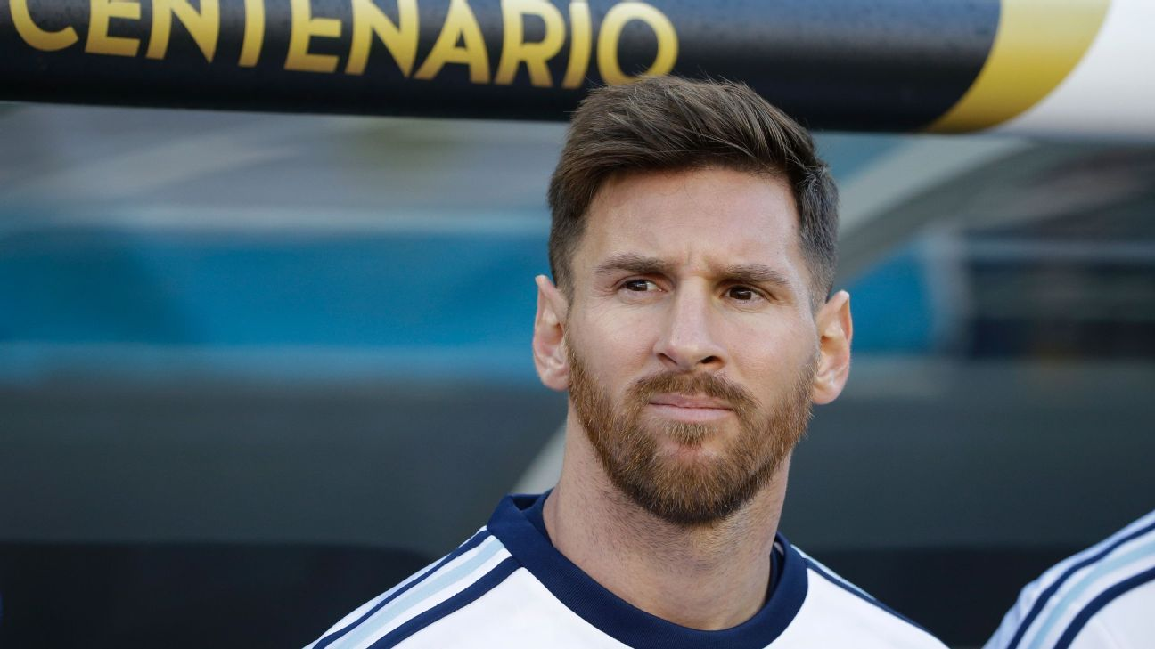 Argentina captain lionel messi shifts focus to copa america knockout