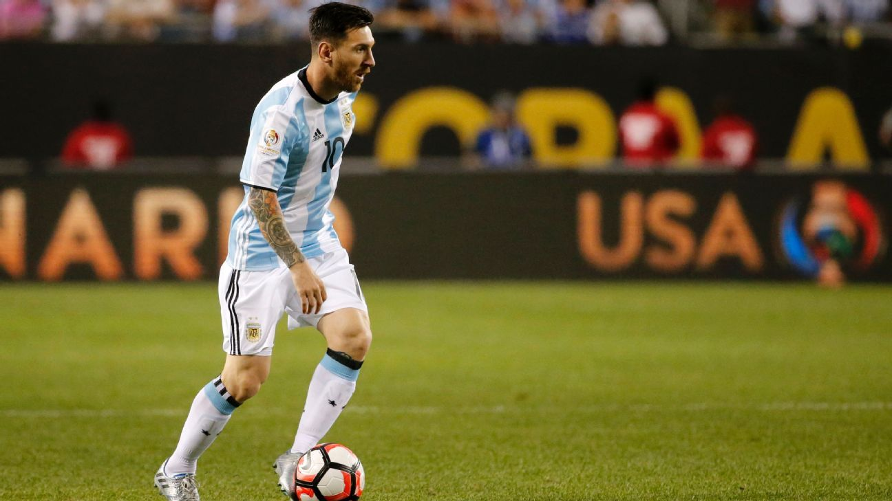 Lionel Messi scored a hat trick to lead Argentina to a 5-0 win vs. Panama.