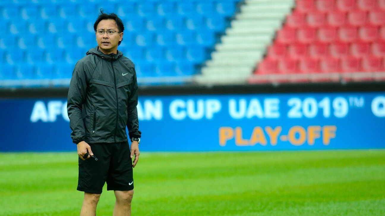 Malaysia national coach Ong Kim Swee