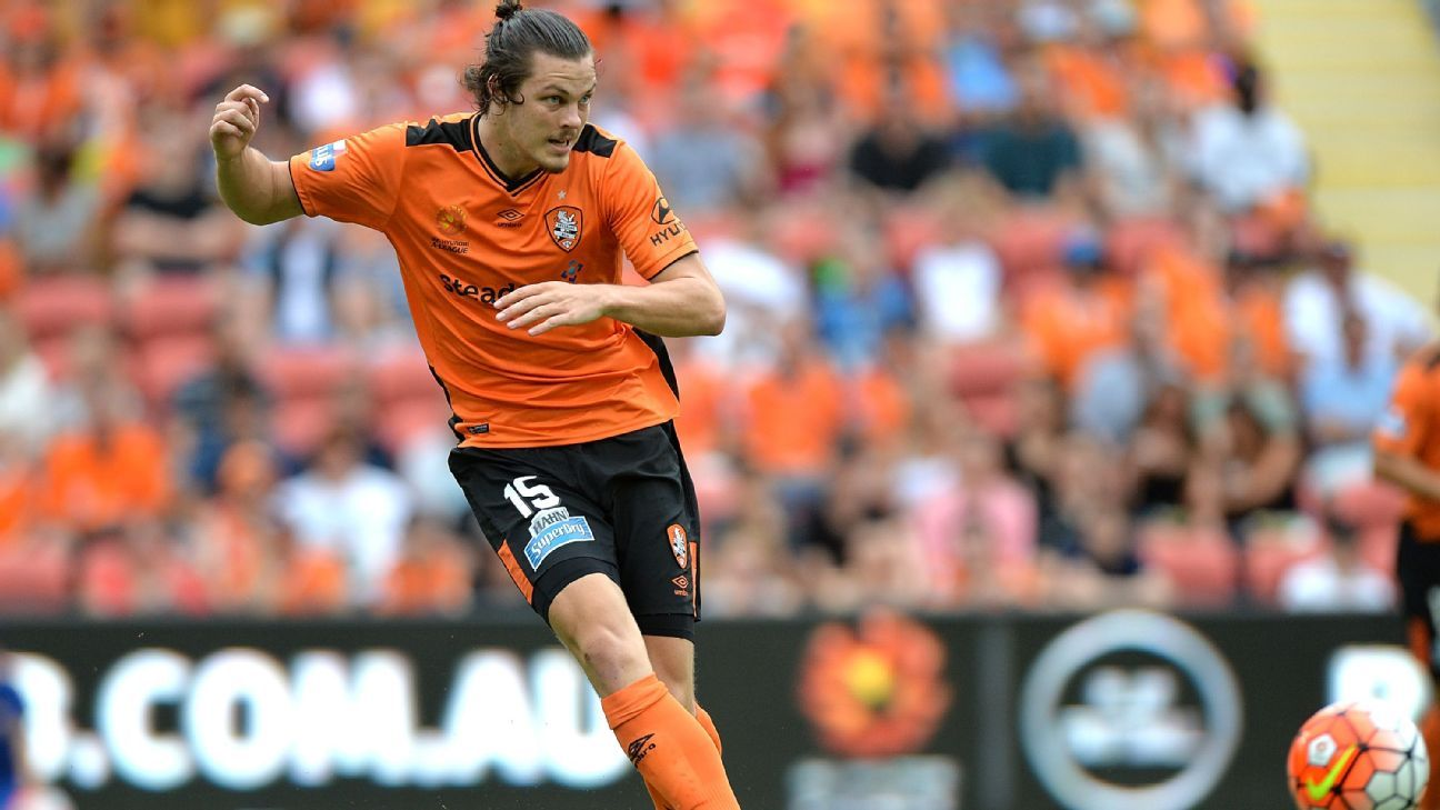 Brisbane Roar defender James Donachie
