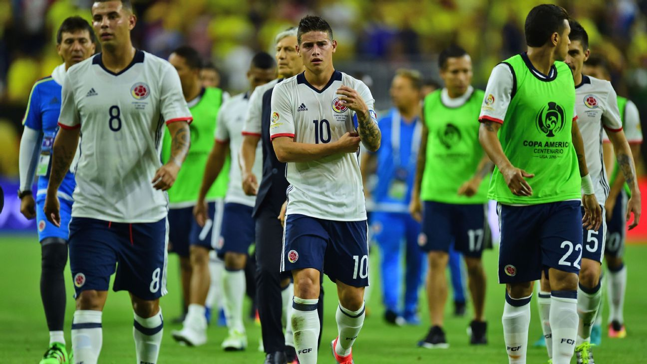 James and Colombia woe