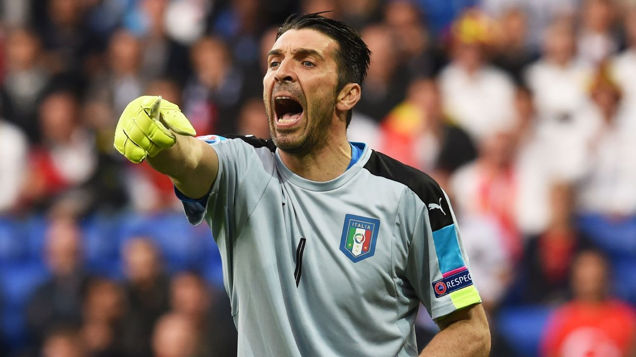Image result for Juventus and Italy's Buffon can play until he's 50