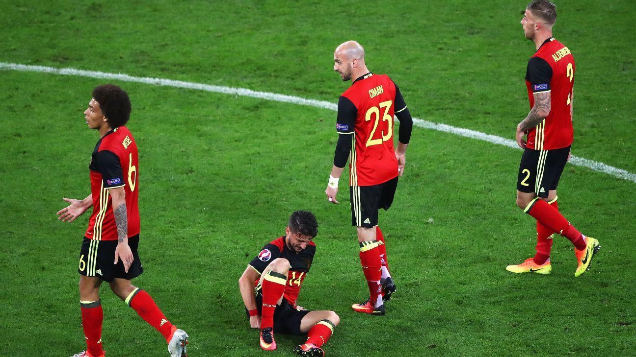 Belgium woe v Italy