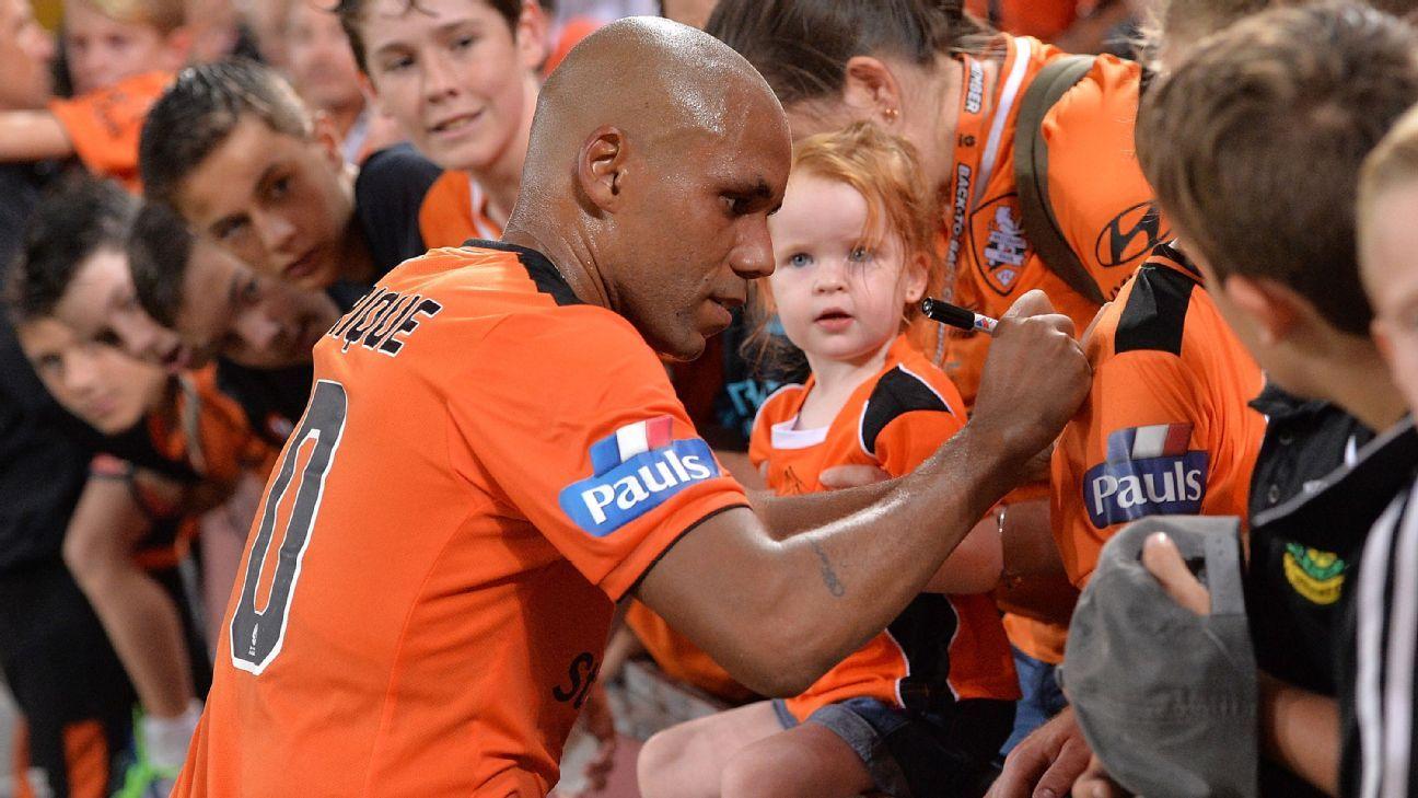 Brisbane Roar striker Henrique
